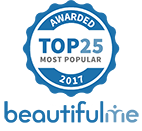 BeautifulMe Most Popular 2017 Award